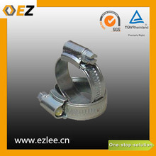 tool stainless steel corrugated adjustable pipe hose clamp