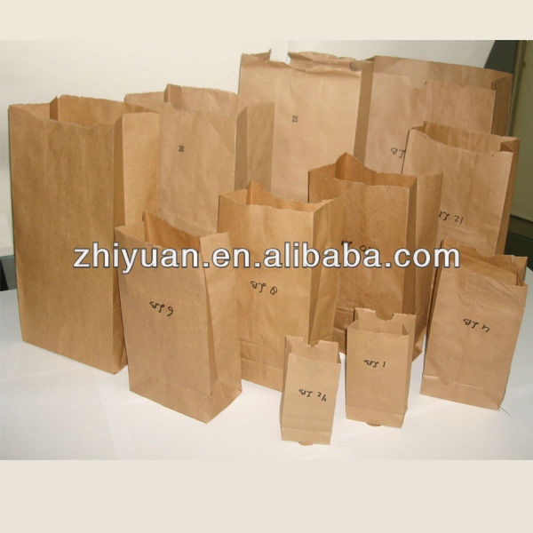 kraft paper bag Square Botton Paper Bags