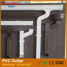 Valley Used Beautiful Appearance Roof PVC Rain Leaf Gutter Guard