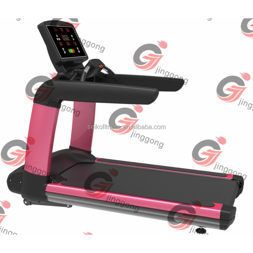 2016 hot sale/Commercial Body Ftiness Equipment /Touch Screen Treadmill