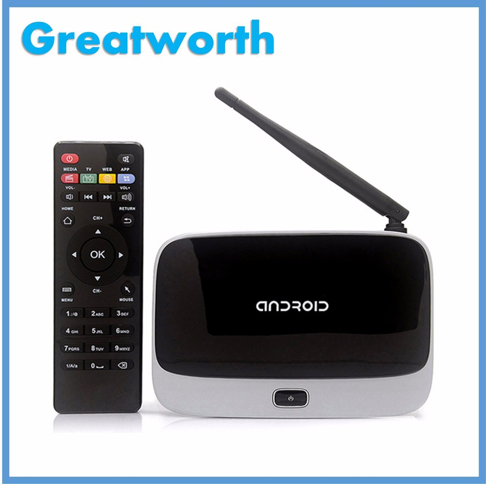 CS918 Quad Core Android TV Box Android 4.4 Quad Core TV Box hot selling at moment