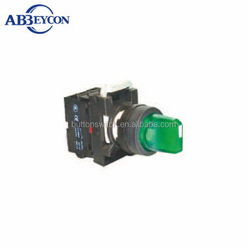 BB112 High Quality short-handle two-position contact block turn button