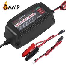 Desktop universal 12V 5A battery charger, LED display battery capacity waterproof solar charger