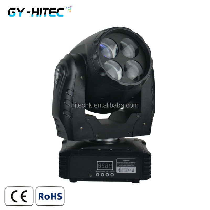 4*10W LED mini super <strong>beam</strong> moving head light disco light