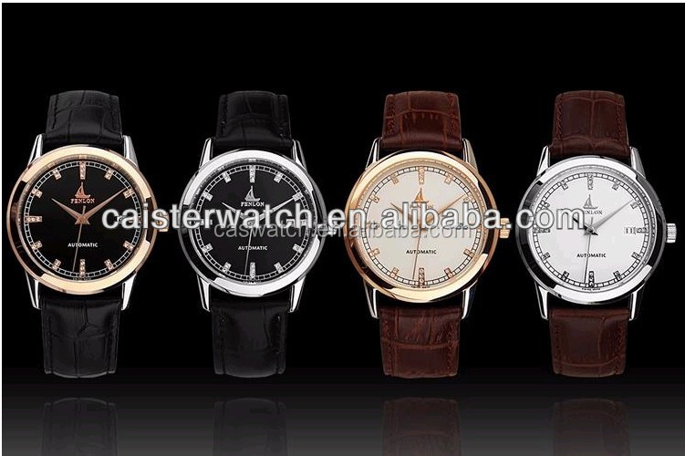 High Quality Delicate Men Women Unisex Japan Miyota Movement Luxury Stainless Steel Watch