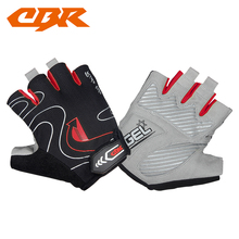 Wholesale antiwear cycling sports road Bike MTB riding half finger gloves