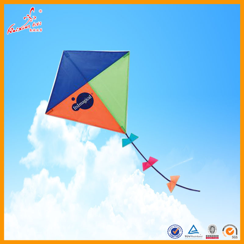 rainbow diamond kite from Weifang China