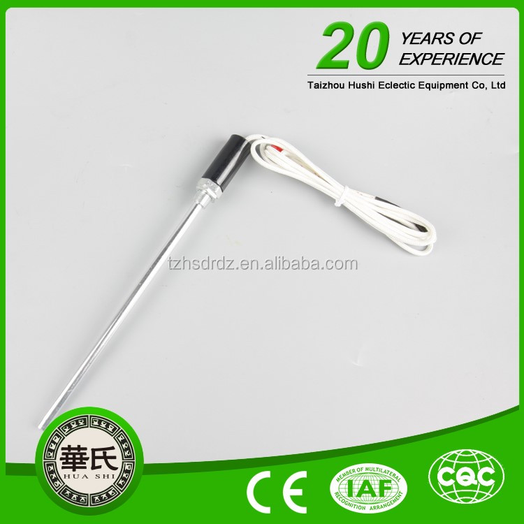 Type J And Type K Thermocouple Probes With Connection Head