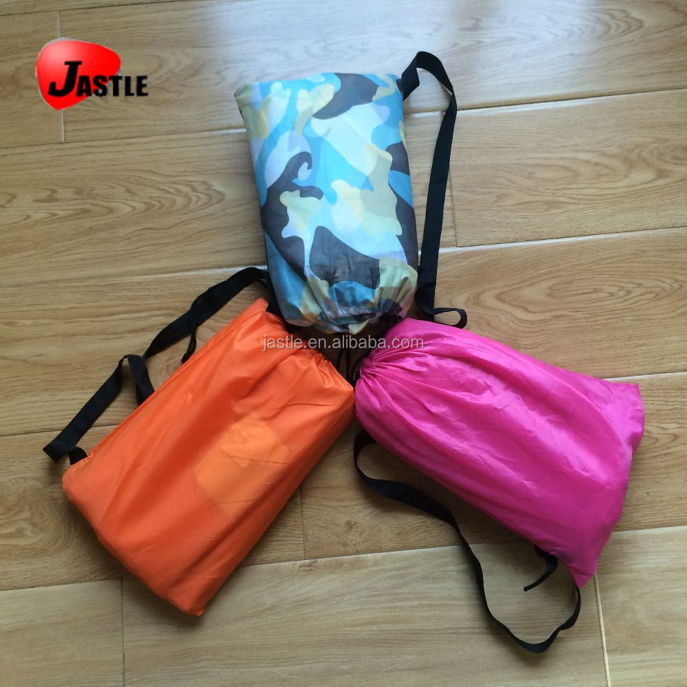 New Air Lounge Indoor & Ourdoor Lazy Sofa Bed Fast Filled Inflatable Air Sleeping Lay Bag With Carry Bag