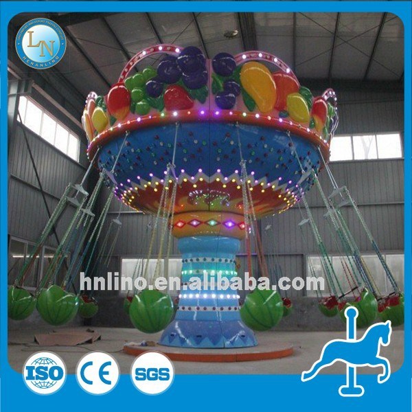 Very Welcomed On Alibaba and Facebook! Amusement playground kiddie rides flying swing chair games