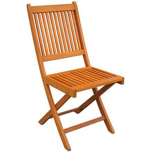 Balau Wood Folding Chair