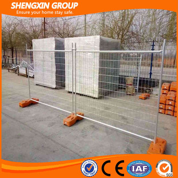 Temporary manufacture fence