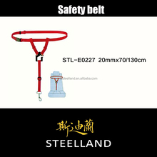 factory direct supply red color saftey belt pet products