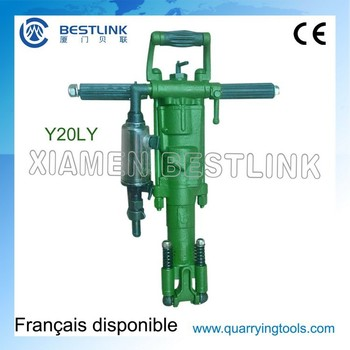 Sales Y20 Y24 TY24C Pneumatic Portable Rock Drill for Surface Drilling