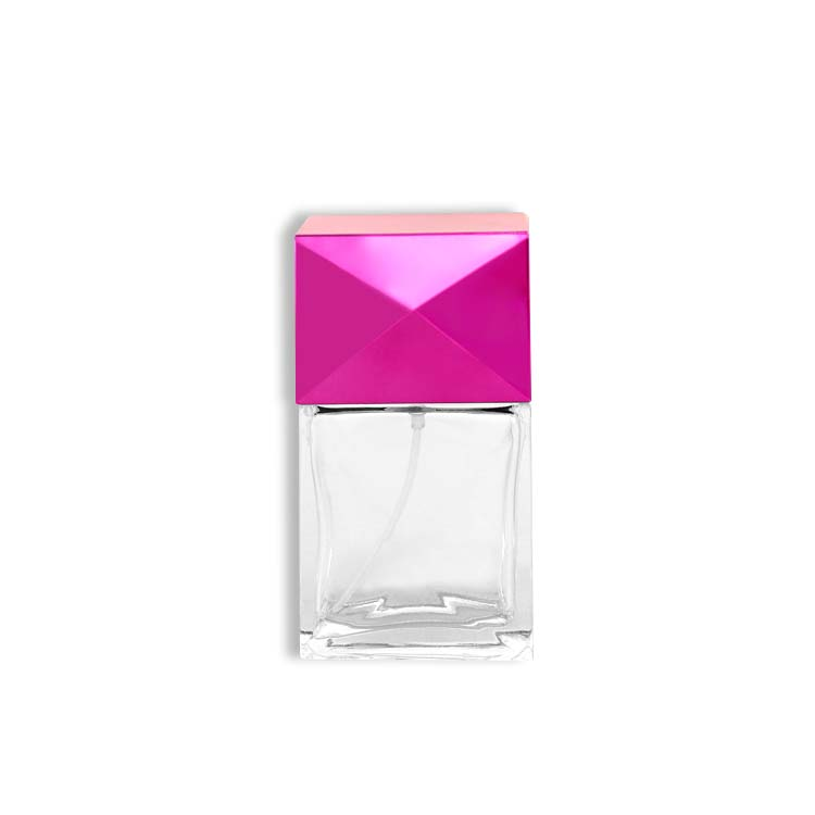 35ml sell small square empty glass perfume bottles