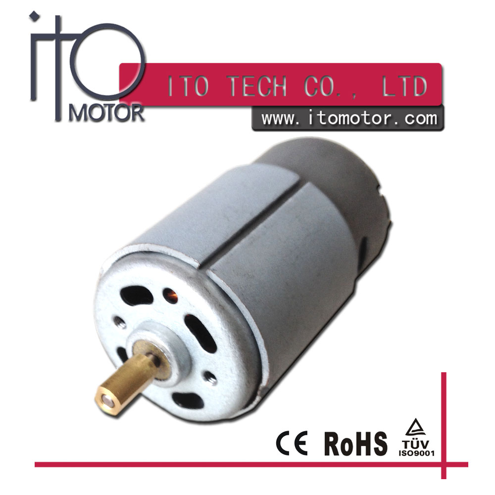 High quality RS-390/395 12v 15000rpm micro brush dc motor
