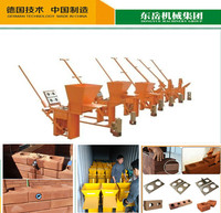 Multifunctional used clay brick extruder machine with CE certificate