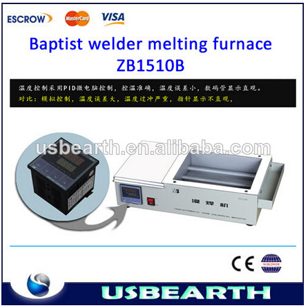 Factory price Lead-free Solder pot / Welding machine ZB1510D ,wave solder pot / lead free solder pot