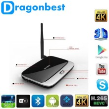 Android 4.4 Smart TV Box Quad Core RK3188 2G +8G