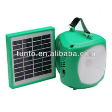 Portable small solar lantern with high bright led lights