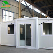 flat pack container house folding portable prefab expandable house