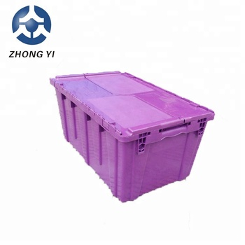 2018 Industrial moving plastic crate dollies with wheel