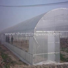 Agriculture farm 10.0m single span plastic film green house for sale