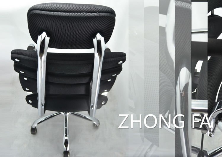 A02# Chrome Metal Hotel High Wing Back Chairs