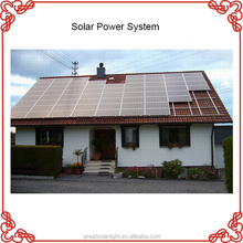 Easy installation 5kw off grid solar power energy home system