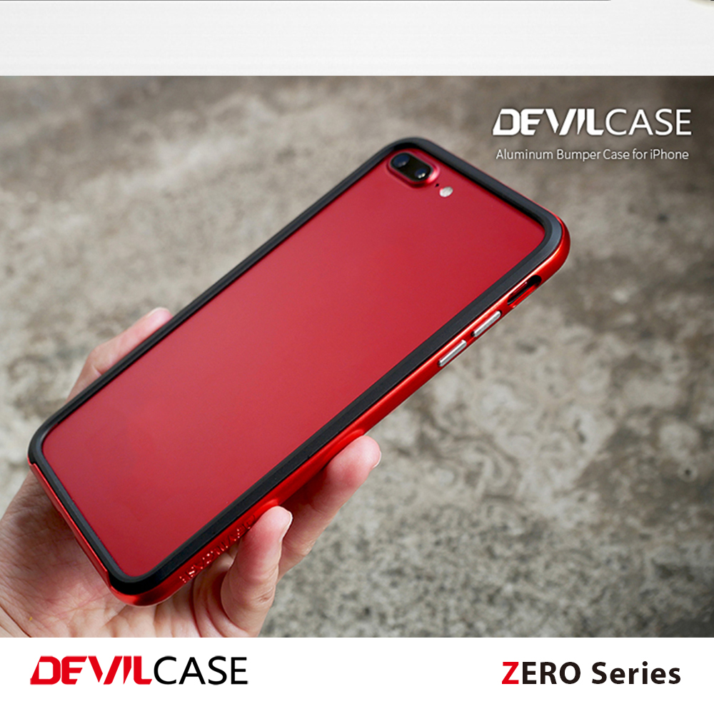 [DEVILCASE] ZERO Series--A6061 Aluminum Metal Bumper Frame Hard Case Cover for iPhone