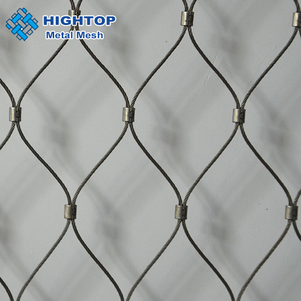 flexible stainless steel cable rope <strong>mesh</strong>/aviary <strong>mesh</strong>/bird netting