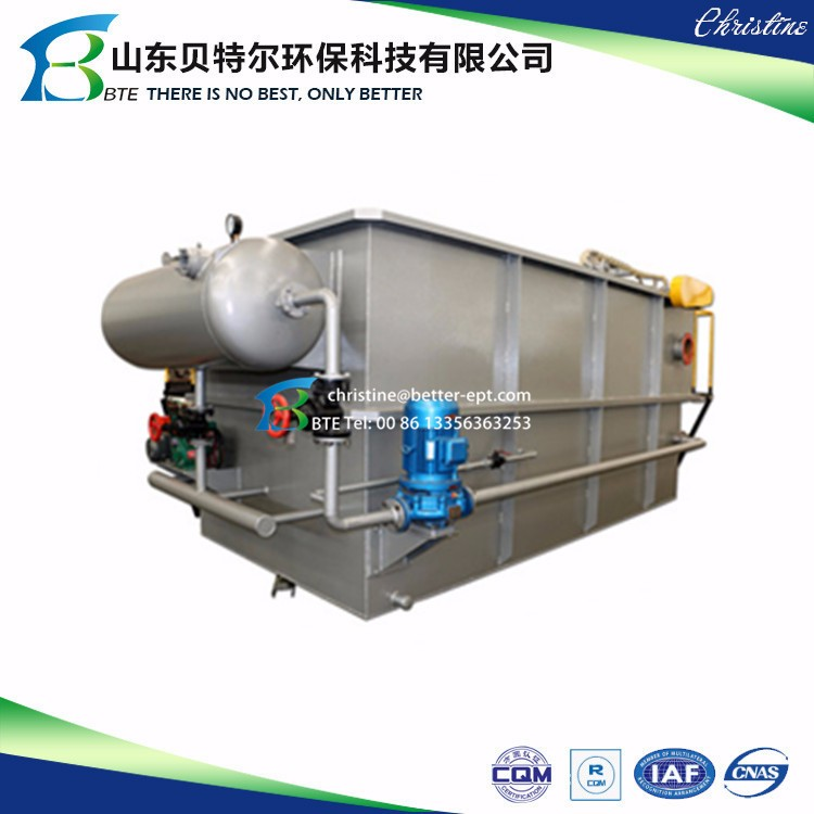 Cow and Pigs Slaughtering House Wastewater Treatment Machine DAF-Dissolved Air Flotation