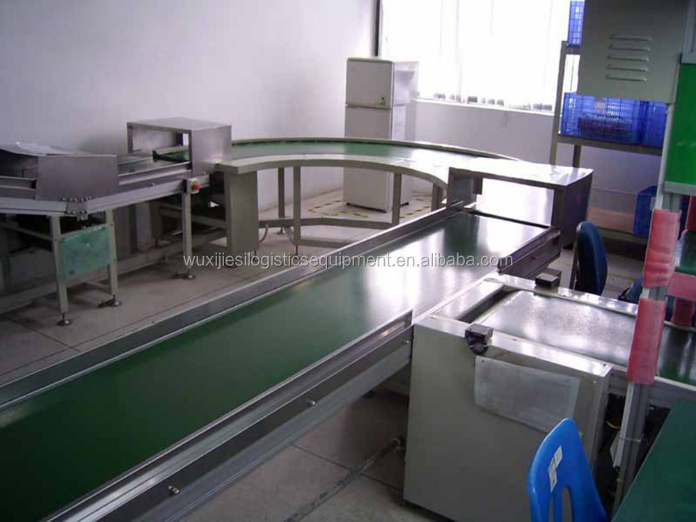 90/180 degree curved belt conveyor for hot sale