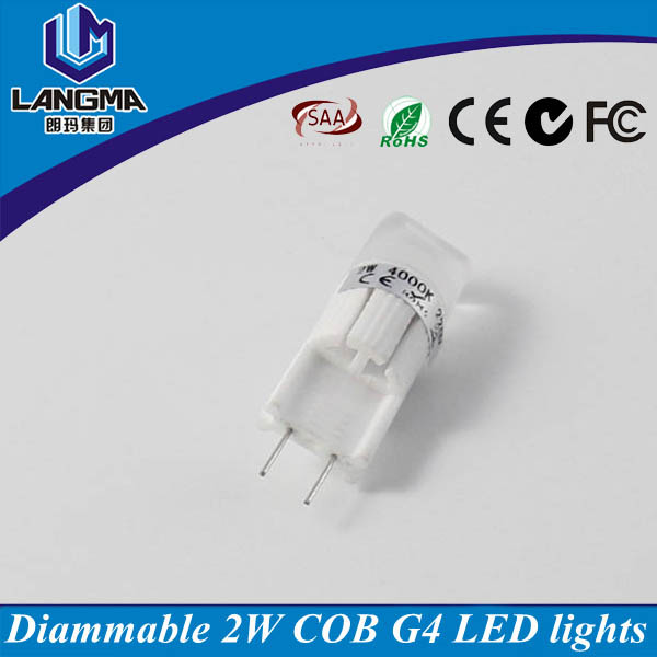 Dimmable g4 led 12v 20w halogen bulb replacement, original samsung g4 cob led