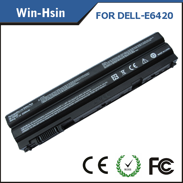 4400mah laptop battery for dell latitude e6420 e5420 e5520 e6120 e6220 e6320 e6520 battery