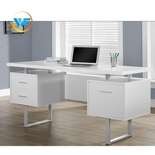 Modern Wooden Computer Table Design Desk With Storage