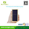 High conversion rate solar mobile power 20000mah high quality power bank