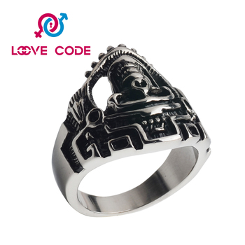 New 2016 hot sale skull men's ring