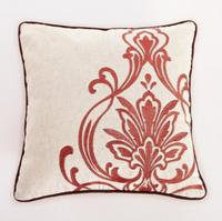 Decorative pillow, sofa cushion,cushion to sleep, Linen Fabric embroidery Cushion Cover
