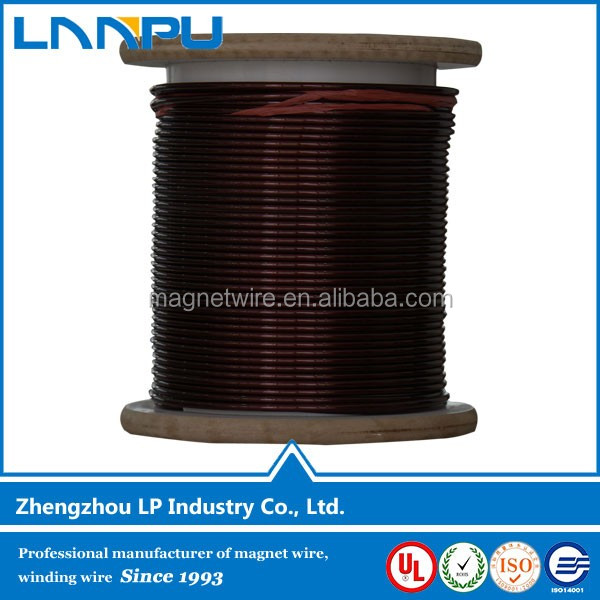 Hot Sale Polyester-Imide 180 Class SWG Aluminium Wire Magnet Wire Coil for Motor