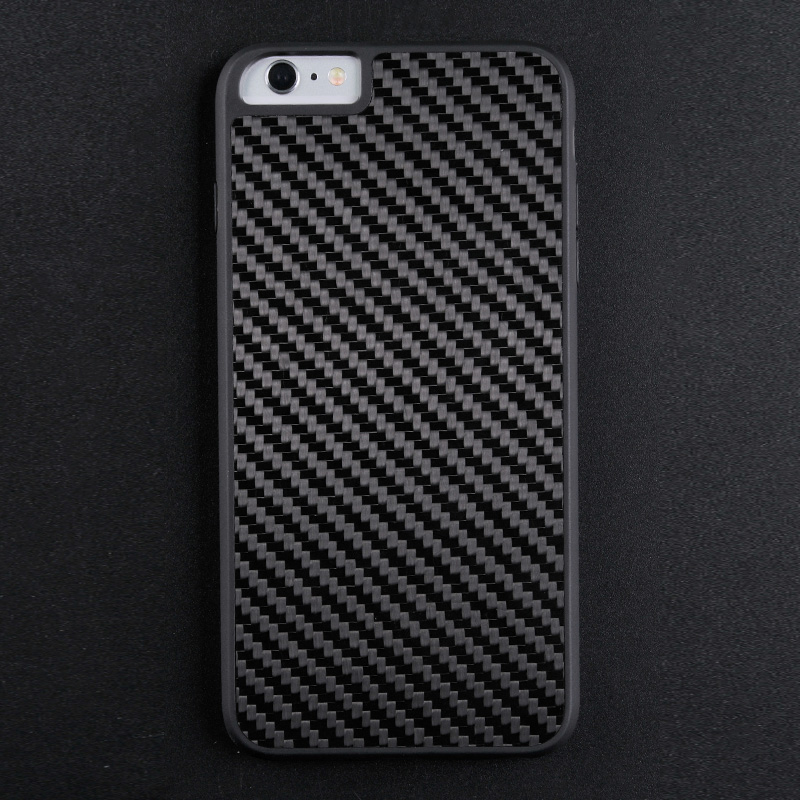 Premium Luxury Hybrid TPU+PC+Carbon Fiber Case for iPhone 6s