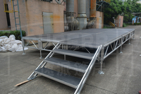 Wedding stage, movable stage platform for outdoor wedding party