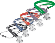 Bright Colored double barrel stethoscope
