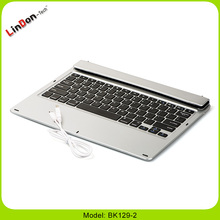 High Quality Ultra Slim Notebook Style Bluetooth Keyboard Case For iPad Pro 12.9 Inch
