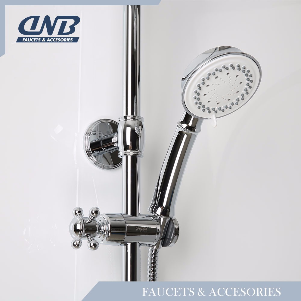 Shower faucet Handheld Barand , Anti-Winding Electroplating Hose Faucet