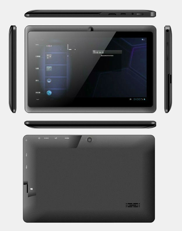 "Q88 7"" CAPACITIVE TOUCH ANDROID 4.0 ALL WINNER A13 TABLET PC NETBOOK MID"