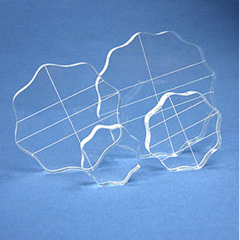 factory wholesale transparent and clear cast acrylic sheet used for clear stamps