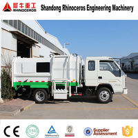 2015 new 7 cbm compactor garbage truck price, mini small garbage truck for sale