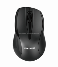 2016 hot selling cheap price black colour unique RF 2.4g optical super mini wireless mouse