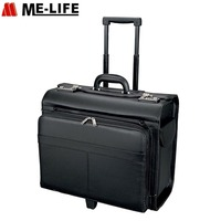 PU Leather Suitcase Luggage China Pilot